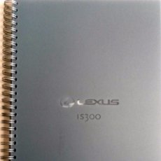 Coches y Motocicletas: CATÁLOGO ORIGINAL LEXUS IS300. . Lote 87847836