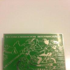 Coches y Motocicletas: 2A CONCENTRACION INTERNACIONAL L'ESCALA 1983 - MOTOCICLISMO. Lote 87933662