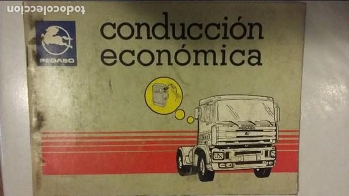 CONDUCCION ECONOMICA PEGASO TRONER (ZCETA) (Coches y Motocicletas Antiguas y Clásicas - Catálogos, Publicidad y Libros de mecánica)