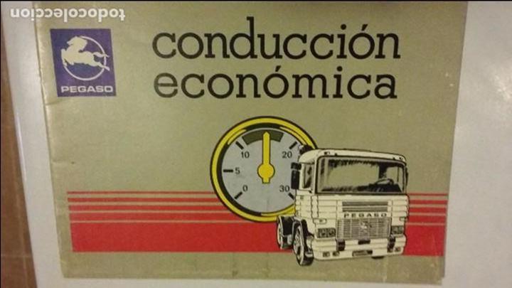 CONDUCCION ECONOMICA PEGASO TECNO (ZCETA) (Coches y Motocicletas Antiguas y Clásicas - Catálogos, Publicidad y Libros de mecánica)
