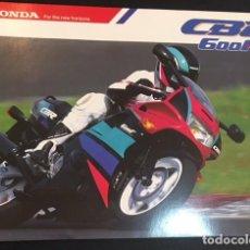 Coches y Motocicletas: FOLLETO CATALOGO PUBLICIDAD HONDA CBR 600 F 600F. Lote 214330080