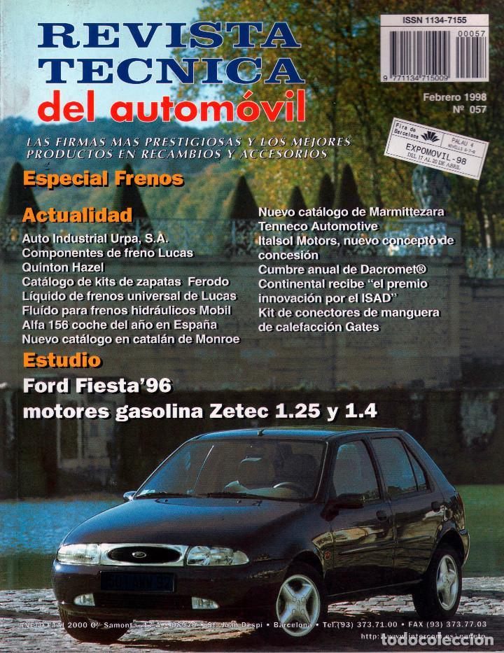manual de taller revista t cnica del autom vil comprar cat logos rh todocoleccion net 2016 Ford Fiesta 2017 Ford Fiesta