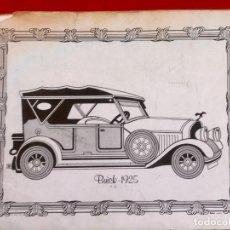 Coches y Motocicletas: COCHE BUICK 1925 CARTULINA PARA ENMARCAR 32X24,5 CM. Lote 88746732