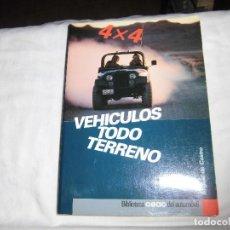 Coches y Motocicletas: VEHICULOS TODO TERRENO 4 X 4.MIGUEL DE CASTRO.BILIOTECA CEAC DEL AUTOMOVIL. Lote 88845656