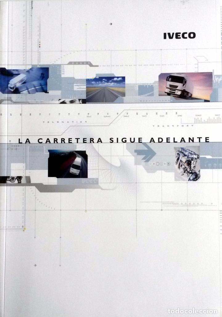DOSSIER DE PRENSA GAMA IVECO - 2002. TEXTO EN ESPAÑOL. (Coches y Motocicletas Antiguas y Clásicas - Catálogos, Publicidad y Libros de mecánica)