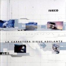 Coches y Motocicletas: DOSSIER DE PRENSA GAMA IVECO - 2002. TEXTO EN ESPAÑOL.. Lote 89069344