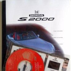 Coches y Motocicletas: DOSSIER DE PRENSA HONDA S 2000. TEXTO EN ESPAÑOL.. Lote 89069632