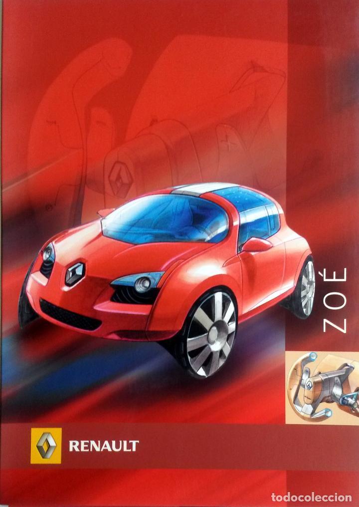 DOSSIER DE PRENSA RENAULT ZOÉ -CONCEPT-CAR- 2005. TEXTO EN ESPAÑOL. (Coches y Motocicletas Antiguas y Clásicas - Catálogos, Publicidad y Libros de mecánica)