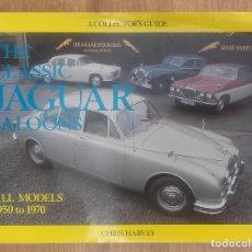 Coches y Motocicletas: JAGUAR - TODOS LOS MODELOS DE 1950 A 1970 . Lote 89165748