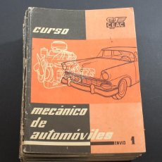 Coches y Motocicletas - CURSO MECANICO AUTOMOVILES CEAC COMPLETO 24 EJEMPLARES + INDICE DEL CURSO, 7ª EDICION 1962 - 90045000