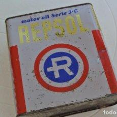 Coches y Motocicletas: LATA DE ACEITE REPSOL . Lote 90221560