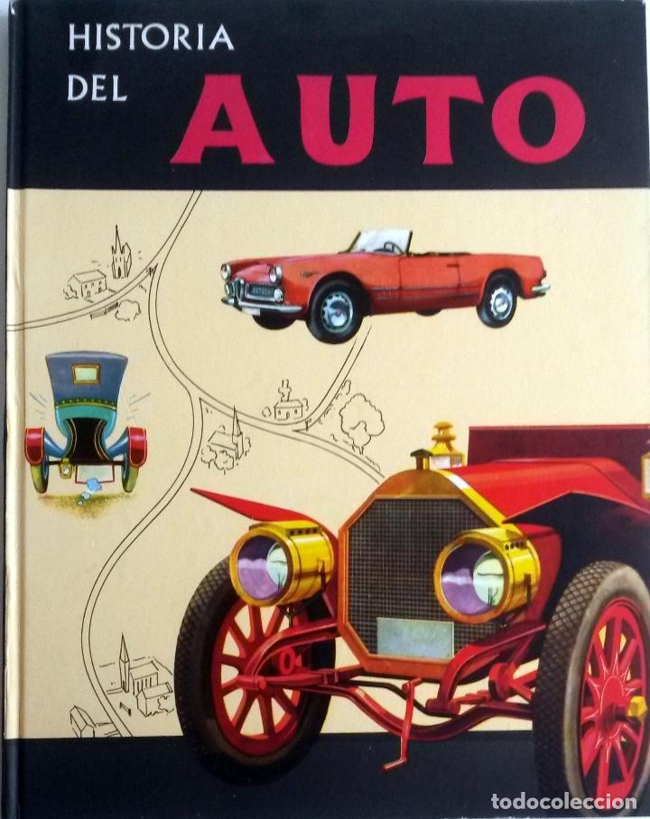 LIBRO HISTORIA DEL AUTO. - AÑO 1960. (Coches y Motocicletas Antiguas y Clásicas - Catálogos, Publicidad y Libros de mecánica)