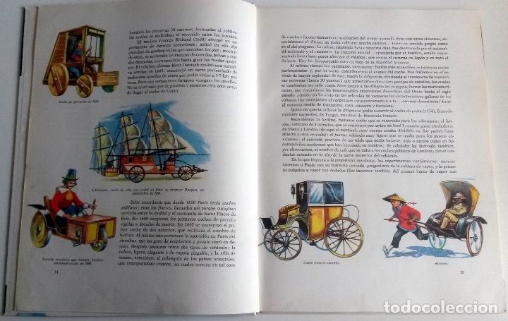 Coches y Motocicletas: LIBRO HISTORIA DEL AUTO. - Año 1960. - Foto 2 - 90350456