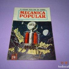Coches y Motocicletas: ANTIGUA * MECÁNICA POPULAR * EN ESPAÑOL DE JULIO DE 1960. Lote 90518315