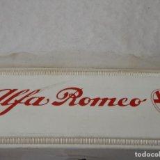 Coches y Motocicletas: CARPETA CON MANUALES DE ALFA ROMEO 75. Lote 89376784
