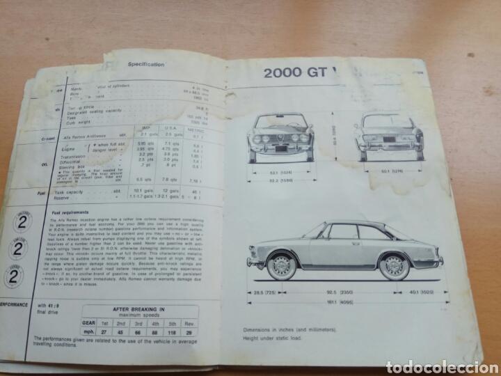 Coches y Motocicletas: Manual Alfa Romeo 1750 - Foto 4 - 90675409