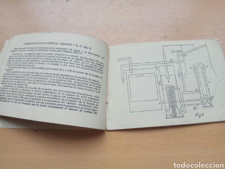 Coches y Motocicletas: Manual carburadores aviacion hispano suiza - Foto 5 - 90891138