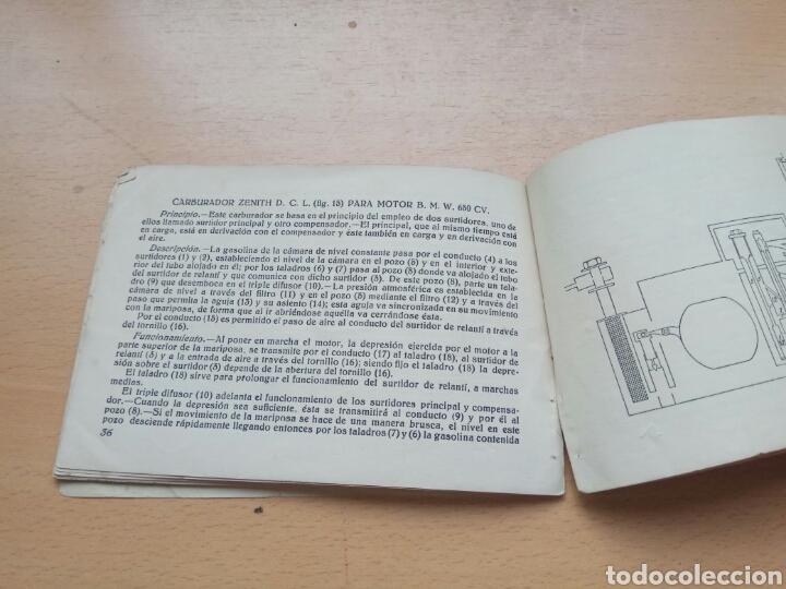 Coches y Motocicletas: Manual carburadores aviacion hispano suiza - Foto 7 - 90891138