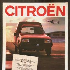 Coches y Motocicletas: FOLLETO CATALOGO PUBLICIDAD ORIGINAL CITROEN C15 DE 1987. Lote 91530295