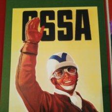 Coches y Motocicletas: POSTER OSSA 1955 REPRODUCCIÓN PARA ENMARCAR. Lote 91697272