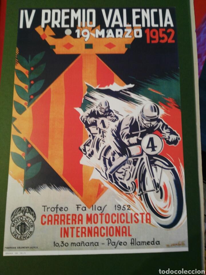 poster motociclismo iv premio valencia año 1952 - Comprar Catálogos ...