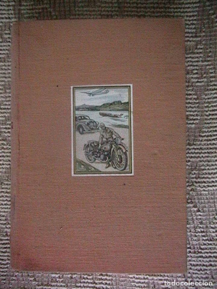 LIBRO ANTIGUO COCHES MOTORES (Coches y Motocicletas Antiguas y Clásicas - Catálogos, Publicidad y Libros de mecánica)