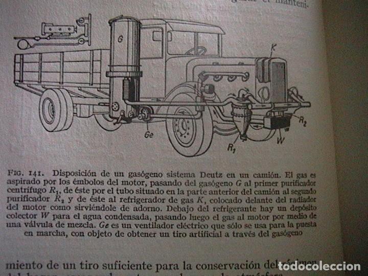 Coches y Motocicletas: Libro antiguo coches motores - Foto 3 - 91810815