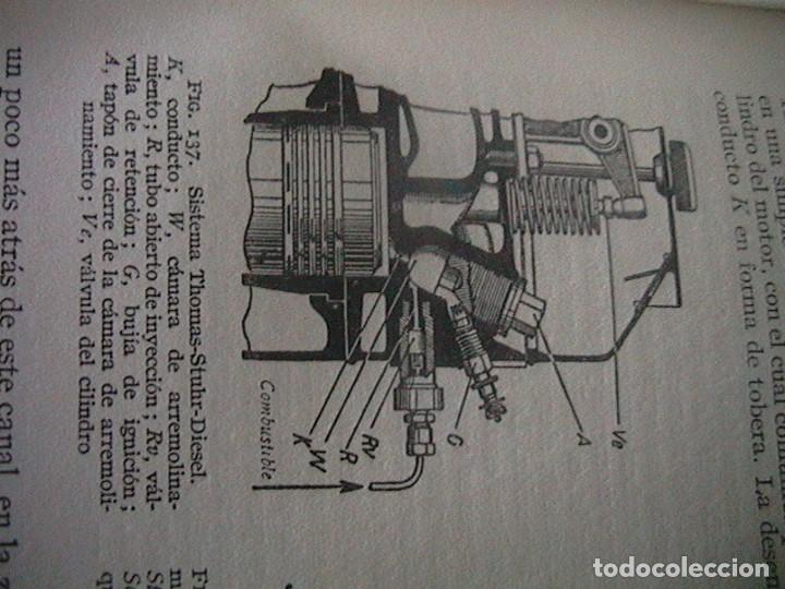Coches y Motocicletas: Libro antiguo coches motores - Foto 4 - 91810815