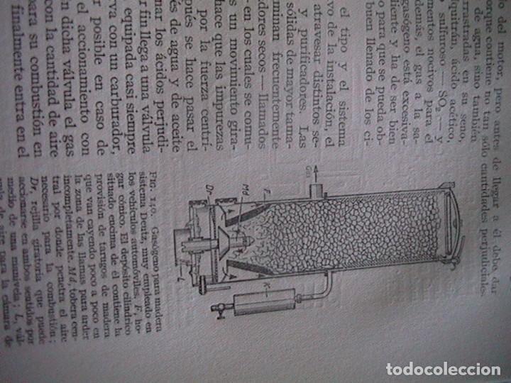 Coches y Motocicletas: Libro antiguo coches motores - Foto 5 - 91810815