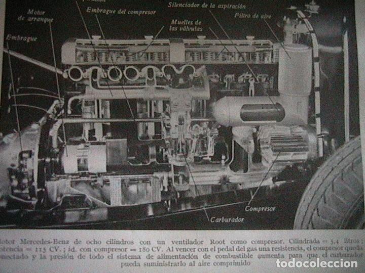 Coches y Motocicletas: Libro antiguo coches motores - Foto 6 - 91810815