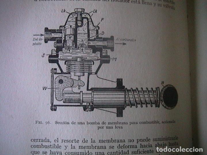 Coches y Motocicletas: Libro antiguo coches motores - Foto 9 - 91810815