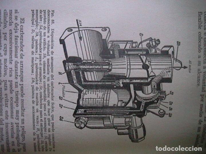 Coches y Motocicletas: Libro antiguo coches motores - Foto 10 - 91810815