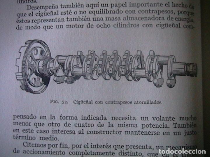 Coches y Motocicletas: Libro antiguo coches motores - Foto 12 - 91810815
