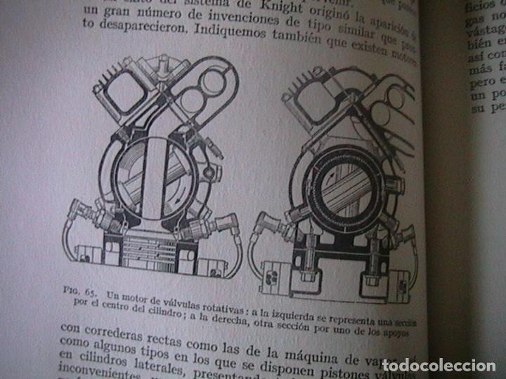 Coches y Motocicletas: Libro antiguo coches motores - Foto 13 - 91810815