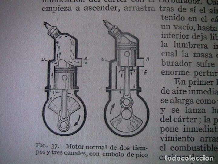 Coches y Motocicletas: Libro antiguo coches motores - Foto 14 - 91810815