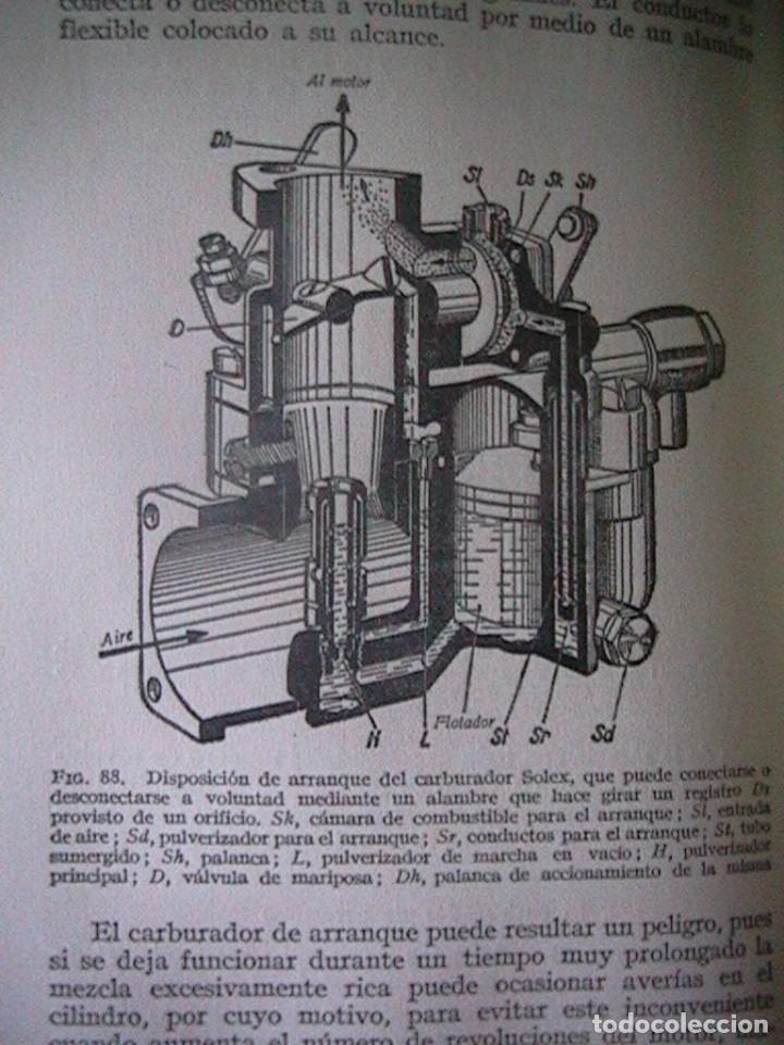 Coches y Motocicletas: Libro antiguo coches motores - Foto 34 - 91810815