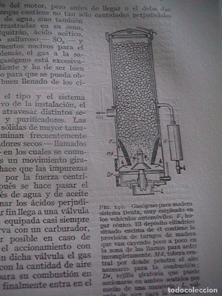 Coches y Motocicletas: Libro antiguo coches motores - Foto 35 - 91810815
