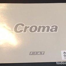 Coches y Motocicletas: CATALOGO FOLLETO PUBLICIDAD ORIGINAL FIAT CROMA DE 1986. Lote 92054035