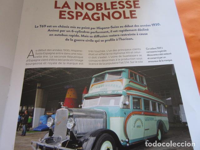 Coches y Motocicletas: HISPANO SUIZA T69 - FASCICULO ESCRITO EN FRANCES 15 PAGINAS - PEGASO - Foto 3 - 152736785
