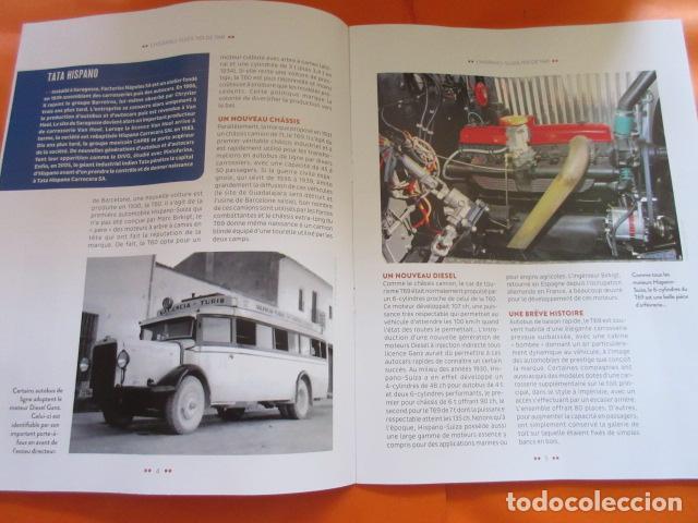 Coches y Motocicletas: HISPANO SUIZA T69 - FASCICULO ESCRITO EN FRANCES 15 PAGINAS - PEGASO - Foto 4 - 152736785