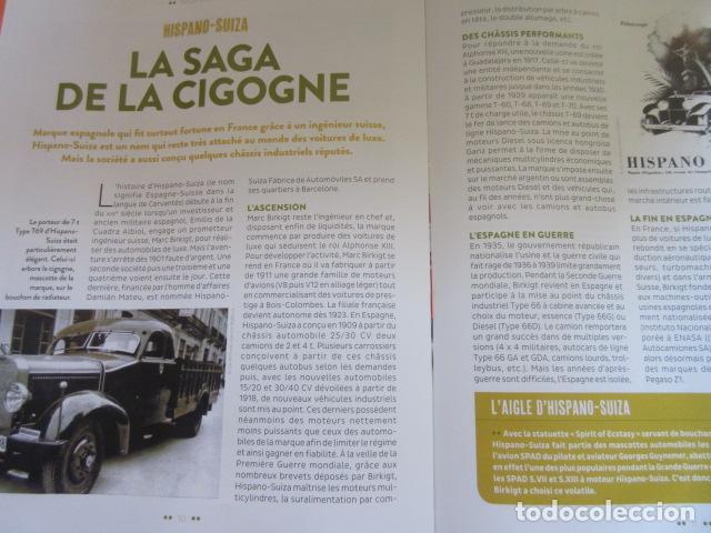Coches y Motocicletas: HISPANO SUIZA T69 - FASCICULO ESCRITO EN FRANCES 15 PAGINAS - PEGASO - Foto 5 - 152736785