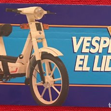 Coches y Motocicletas: CATALOGO FOLLETO PUBLICIDAD VESPINO ALX DE 1986. Lote 92781312