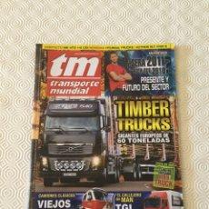 Coches y Motocicletas: REVISTA TRANSPORTE MUNDIAL Nº 281 ENERO DE 2011. Lote 92795788