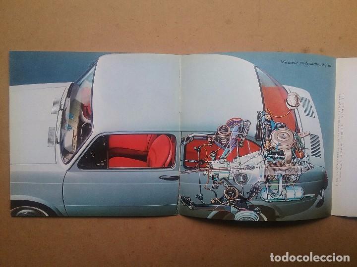 Coches y Motocicletas: FIAT 850 CATÁLOGO PUBLICIDAD AUTOMÓVIL AUTO COCHE AÑOS'60 - Foto 4 - 92908585
