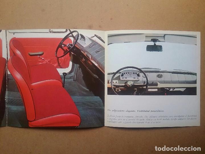 Coches y Motocicletas: FIAT 850 CATÁLOGO PUBLICIDAD AUTOMÓVIL AUTO COCHE AÑOS'60 - Foto 5 - 92908585