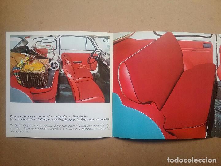 Coches y Motocicletas: FIAT 850 CATÁLOGO PUBLICIDAD AUTOMÓVIL AUTO COCHE AÑOS'60 - Foto 6 - 92908585