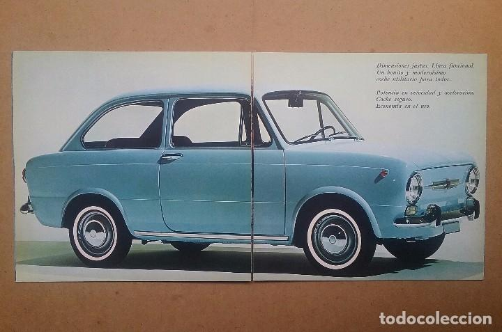 Coches y Motocicletas: FIAT 850 CATÁLOGO PUBLICIDAD AUTOMÓVIL AUTO COCHE AÑOS'60 - Foto 7 - 92908585