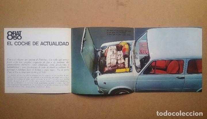 Coches y Motocicletas: FIAT 850 CATÁLOGO PUBLICIDAD AUTOMÓVIL AUTO COCHE AÑOS'60 - Foto 8 - 92908585