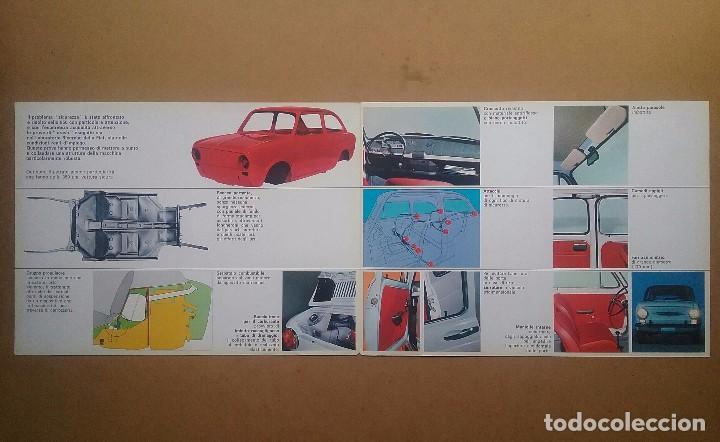 Coches y Motocicletas: FIAT 850 CATÁLOGO PUBLICIDAD AUTOMÓVIL AUTO COCHE AÑOS'60 - Foto 9 - 92908585