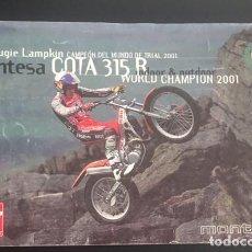 Coches y Motocicletas: CATALOGO FOLLETO PUBLICIDAD ORIGINAL MONTESA COTA 315 R. Lote 93087400